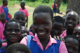 Drop in the Bucket Africa Water Well Uganda Lira Amononeno Primary School-57