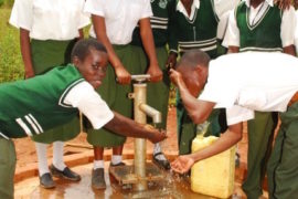 water wells africa uganda drop in the bucket kamda community secondary school-16