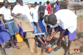 water wells africa uganda drop in the bucket aweil national secondary school-41