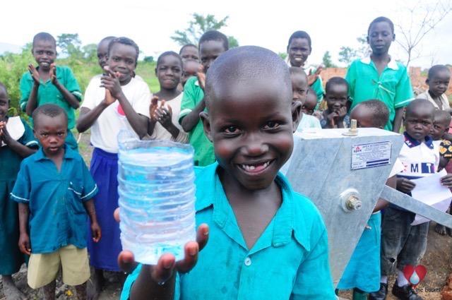 Water wells Africa Uganda Drop In The Bucket Odoom Adar Community Primary School