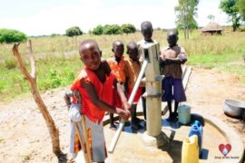 drop in the bucket africa water wells uganda akareu community-25
