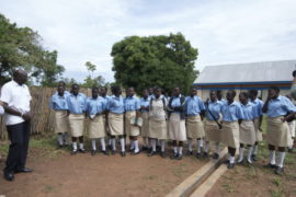 Drop in the Bucket completed water wells gulu Uganda Graceland Girls College-13
