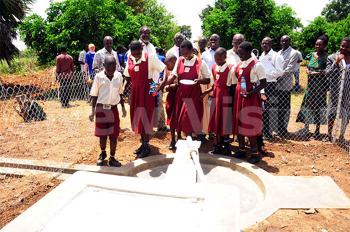 Drop in the Bucket installs solar water pump and toilets at the St Francis Madera School For the Blind in Uganda