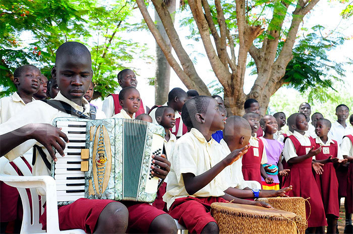 Drop in the Bucket- St Francis Madera School For the Blind, Uganda. New Vision Article