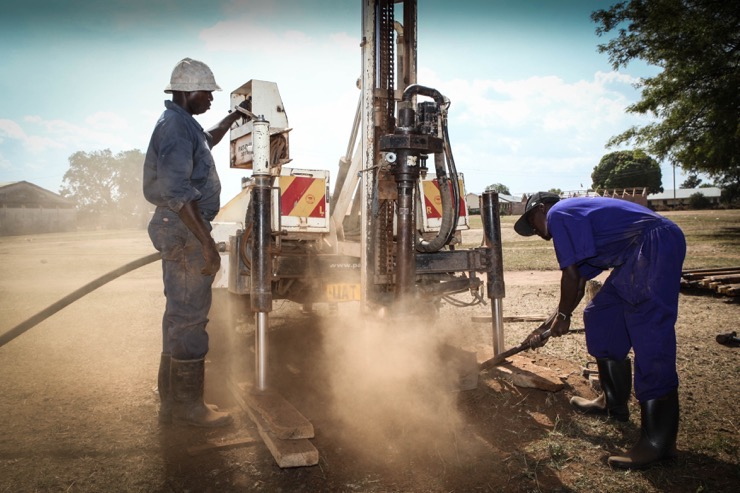 Drop in the Bucket- water well drilling at the Kyere Township Primary School in Serere, Uganda