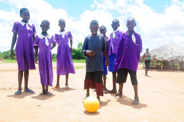 Drop in the Bucket - One-world Futbol- One world play project Africa water charity
