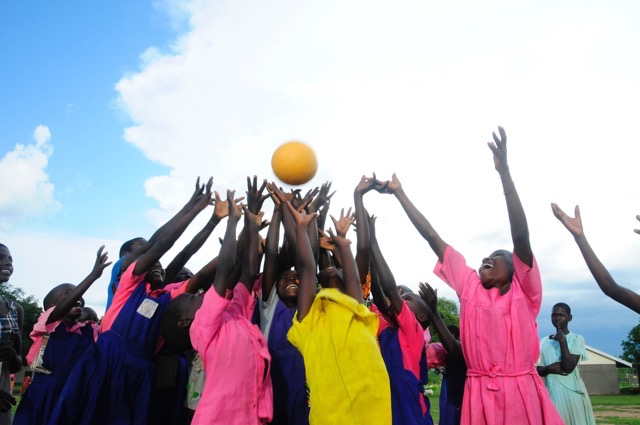 Drop in the Bucket - One-world Futbol One World Play Project Africa water charity