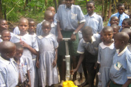 Drop in the Bucket Africa water charity, completed wells Lusiba Parish Well Uganda Africa-0707