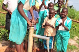 ater wells africa uganda drop in the bucket- St Francis Nyange primary school