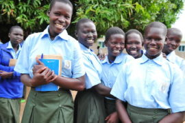 Drop in the Bucket Africa water charity, completed wells Lire Secondary School Well South Sudan Africa-11
