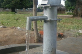 Drop in the Bucket Africa water charity, completed wells Lire Secondary School Well South Sudan Africa-14