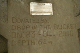 Drop in the Bucket Africa water charity, completed wells Lire Secondary School Well South Sudan Africa-18