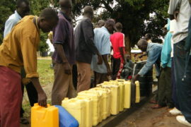 Drop in the Bucket Africa water charity, completed wells Lire Secondary School Well South Sudan Africa-3