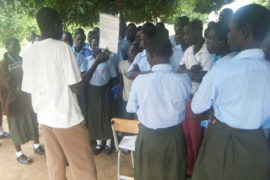 Drop in the Bucket Africa water charity, completed wells Lire Secondary School Well South Sudan Africa-4