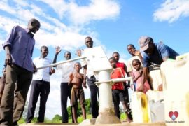 water wells africa uganda drop in the bucket okorot borehole charity-49