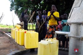 Drop in the Bucket Africa water charity, completed wells, Agule Atapar Borehole Uganda-05