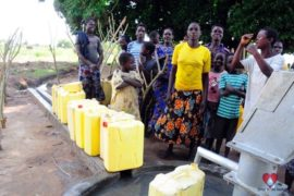 Drop in the Bucket Africa water charity, completed wells, Agule Atapar Borehole Uganda-06