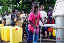 Drop in the Bucket Africa water charity, completed wells, Agule Atapar Borehole Uganda-15