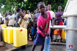 Drop in the Bucket Africa water charity, completed wells, Agule Atapar Borehole Uganda-16