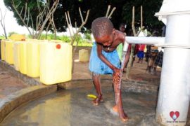 Drop in the Bucket Africa water charity, completed wells, Agule Atapar Borehole Uganda-17