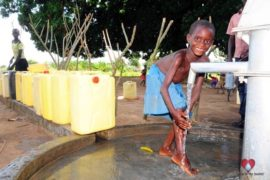 Drop in the Bucket Africa water charity, completed wells, Agule Atapar Borehole Uganda-18