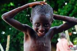 Drop in the Bucket Africa water charity, completed wells, Agule Atapar Borehole Uganda-23