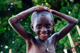 Drop in the Bucket Africa water charity, completed wells, Agule Atapar Borehole Uganda-25