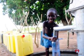 Drop in the Bucket Africa water charity, completed wells, Agule Atapar Borehole Uganda-26