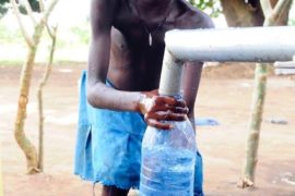 Drop in the Bucket Africa water charity, completed wells, Agule Atapar Borehole Uganda-28