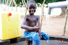 Drop in the Bucket Africa water charity, completed wells, Agule Atapar Borehole Uganda-29