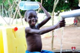 Drop in the Bucket Africa water charity, completed wells, Agule Atapar Borehole Uganda-30