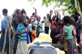 Drop in the Bucket Africa water charity, completed wells, Agule Atapar Borehole Uganda-36