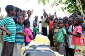 Drop in the Bucket Africa water charity, completed wells, Agule Atapar Borehole Uganda-38