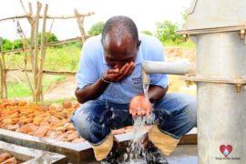Drop in the Bucket Africa water charity, completed wells, Doyoro Borehole Uganda-28