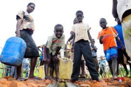 Drop in the Bucket Africa water charity, completed wells, Doyoro Borehole Uganda-51