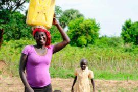Drop in the Bucket Africa water charity, completed wells, Doyoro Borehole Uganda-55