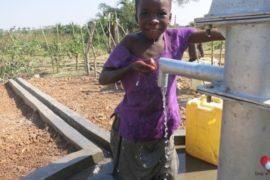 Drop in the Bucket Africa water charity, completed wells, Ocedok Borehole Uganda-28