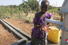 Drop in the Bucket Africa water charity, completed wells, Ocedok Borehole Uganda-39