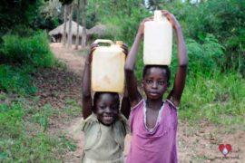 Drop in the Bucket Africa water charity, completed wells, Ocomai Omatakokoroi Primary School Well Uganda-08
