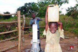 Drop in the Bucket Africa water charity, completed wells, Ocomai Omatakokoroi Primary School Well Uganda-21