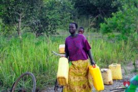 Drop in the Bucket Africa water charity, completed wells, Ocomai Omatakokoroi Primary School Well Uganda-23