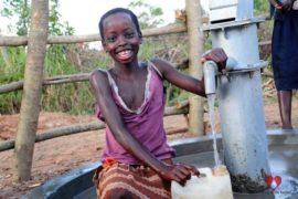 Drop in the Bucket Africa water charity, completed wells, Ocomai Omatakokoroi Primary School Well Uganda-33