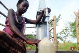 Drop in the Bucket Africa water charity, completed wells, Ocomai Omatakokoroi Primary School Well Uganda-46
