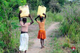 Drop in the Bucket Africa water charity, completed wells, Ocomai Omatakokoroi Primary School Well Uganda-65
