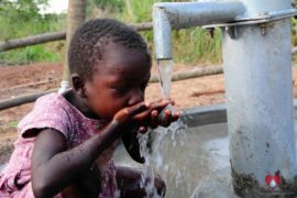 Drop in the Bucket Africa water charity, completed wells, Ocomai Omatakokoroi Primary School Well Uganda-68