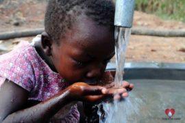 Drop in the Bucket Africa water charity, completed wells, Ocomai Omatakokoroi Primary School Well Uganda-70