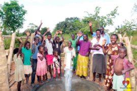 Drop in the Bucket Africa water charity, completed wells, Ocomai Omatakokoroi Primary School Well Uganda-71