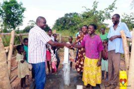 Drop in the Bucket Africa water charity, completed wells, Ocomai Omatakokoroi Primary School Well Uganda-72