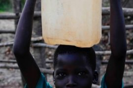 Drop in the Bucket Africa water charity, completed wells, Ocomai Omatakokoroi Primary School Well Uganda-73