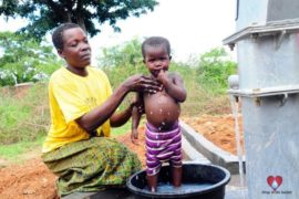 Drop in the Bucket Africa water charity, completed wells, Olemu Basere Borehole Uganda-21
